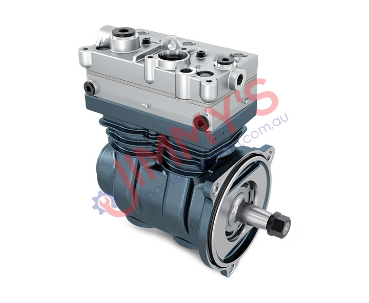 JMM Air Brake Compressor Twin Cylinder